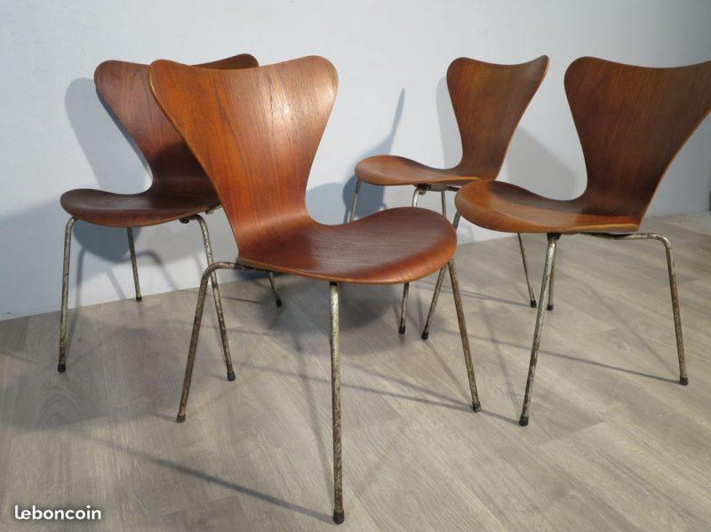 chaise arne jacobsen perfect chaise bar tolix silla terek vintage wood sillas met licas tolix a. Black Bedroom Furniture Sets. Home Design Ideas