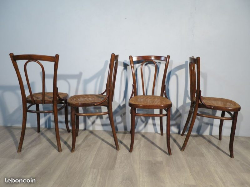 chaises bistrot t rpe anciennes atelier 1954. Black Bedroom Furniture Sets. Home Design Ideas